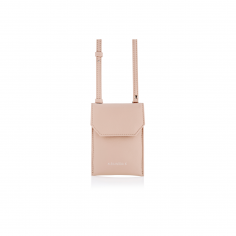 PHONE PURSE NUDE BEIGE