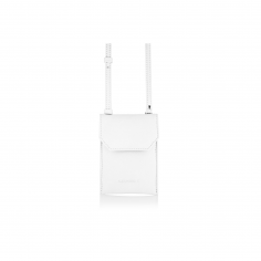 PHONE PURSE IVORY WHITE
