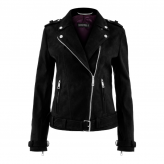 "BIKER JACKET "" VEGAN FOR LIFE"""